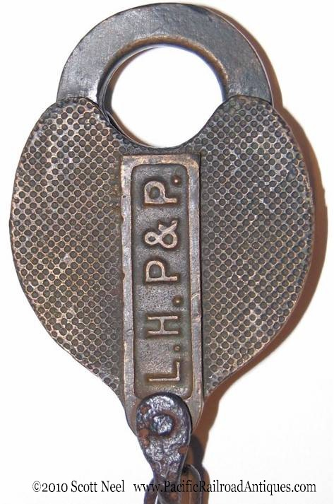 brass railroad lock